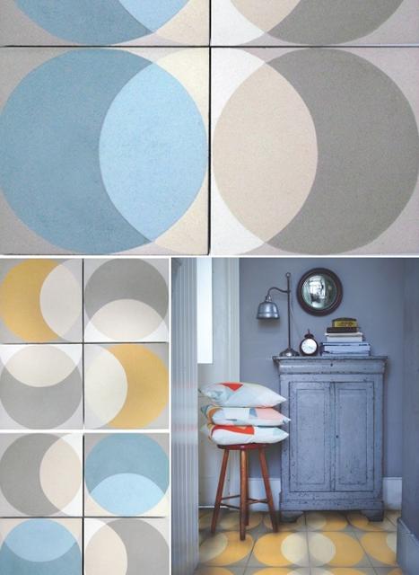 un nouveau regard le grand retour des carreaux de ciment. Black Bedroom Furniture Sets. Home Design Ideas