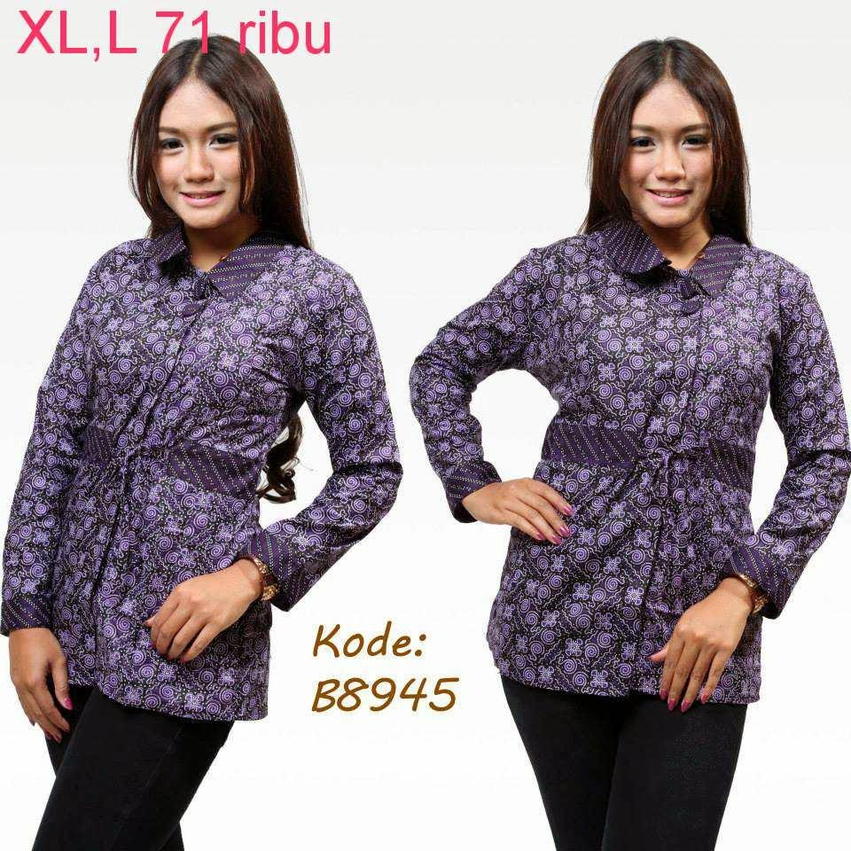 Model Baju Batik Zaskia Mecca: Baju Model Batik Terbaru