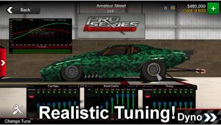Pro Series Drag Racing Mod Apk Unlocked All Item