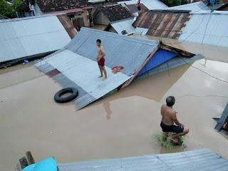 <b>Banjir Besar Landa Kabupaten Dompu, Belum Diketahui Persis Berapa Total Kerugian Warga</b>