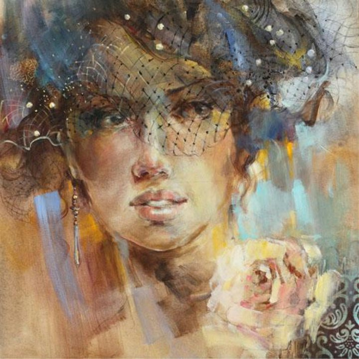 Anna Razumovskaya Анна Разумовская | Russian Figurative painter | Portrait