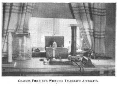 Fielding's wireless telegraph aparatus