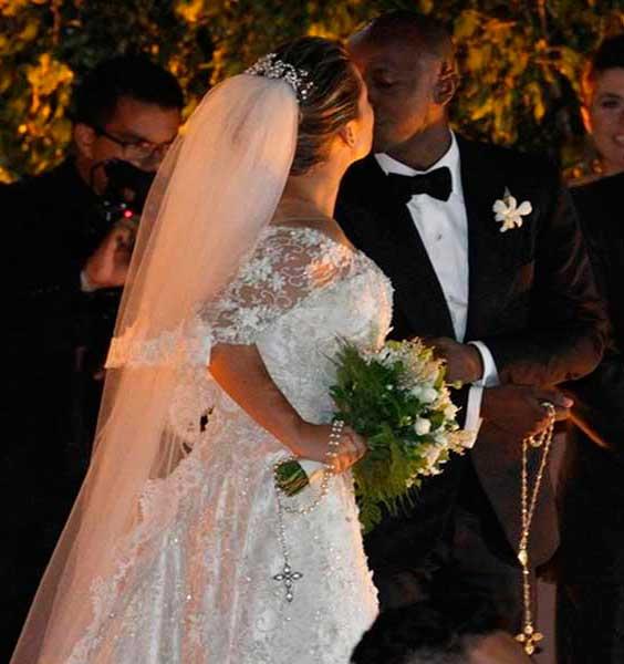 Terço para noivas, Fernanda Souza casamento thiaguinho