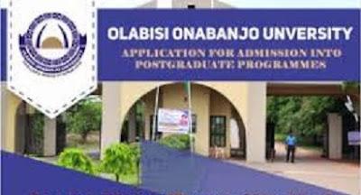 2018 OOU Postgraduate Admission Form Online – pgs.oouagoiwoye.edu.ng