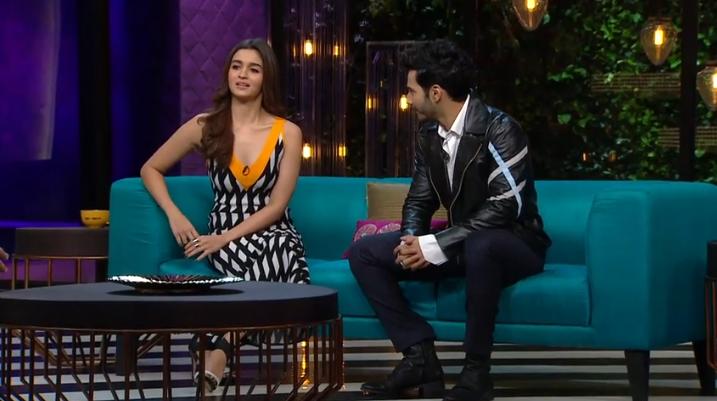 Koffee With Karan Season 5 (Varun Dhawan and Alia Bhatt