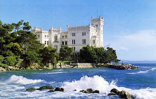 Friuli Venezia Giulia - hrad Miramare