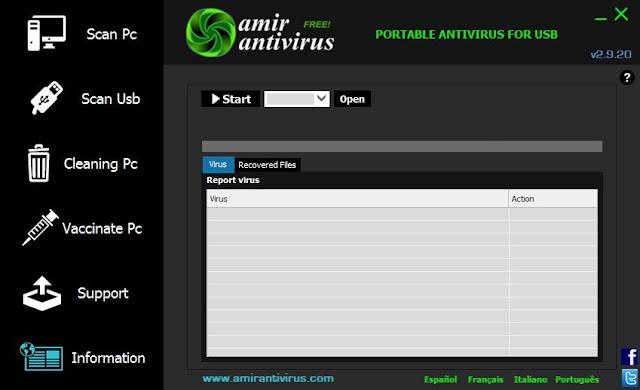 Amir Antivirus, Antivirus Mini Untuk Flashdisk Kamu!