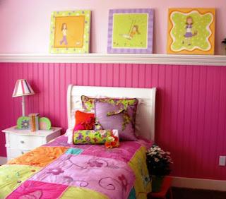 Dekorasi Kamar Anak Perempuan Sederhana dan Simpel