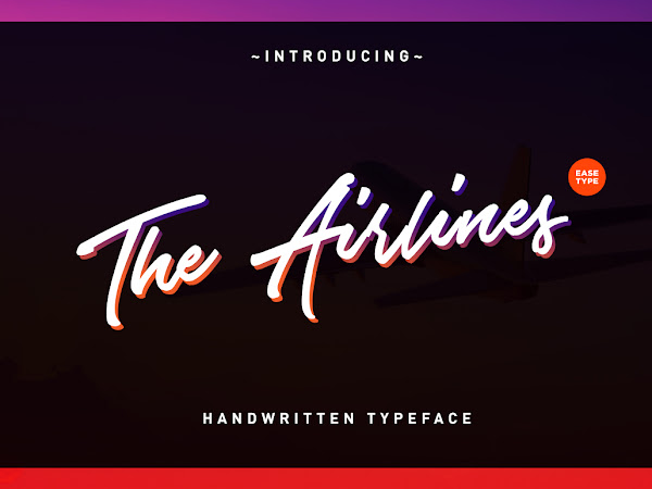 Download The Airlines Signature Font Free