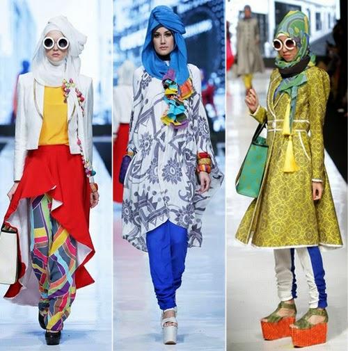 Baju Batik Dian Sastro: Pop Batik Tema Untuk Koleksi Busana Muslim Terbaru Dian