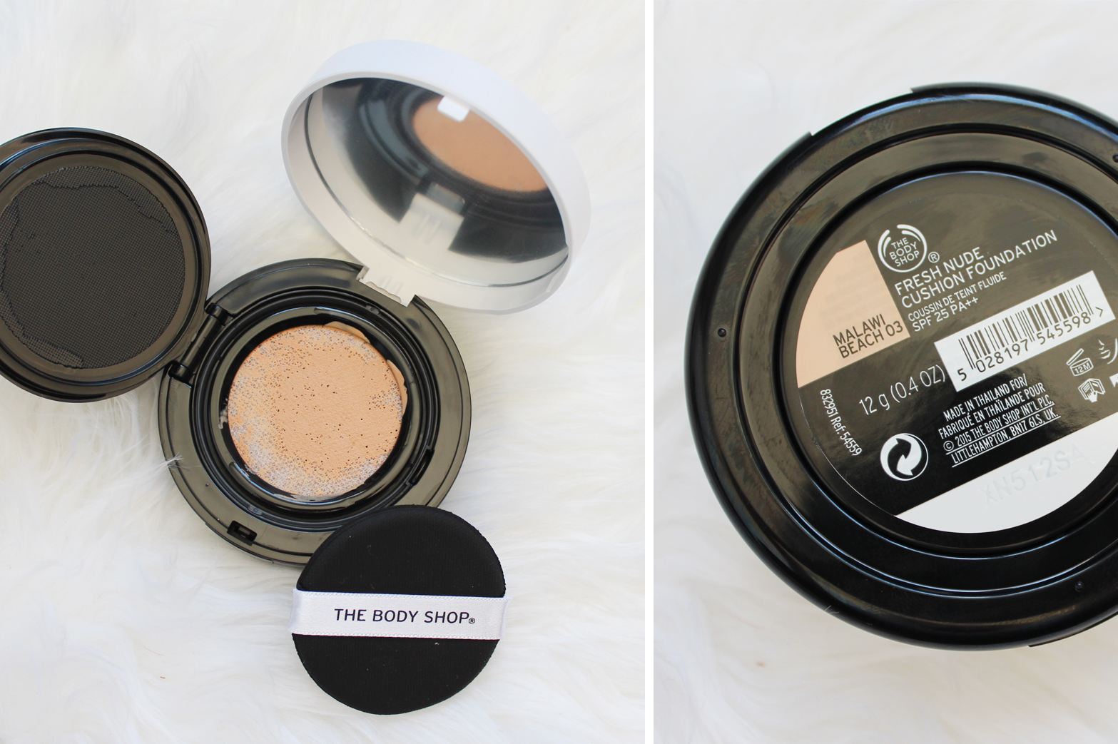 THE BODY SHOP | New Makeup Editions - Down to Earth Palettes + Fresh Nude Cushion Foundation - CassandraMyee