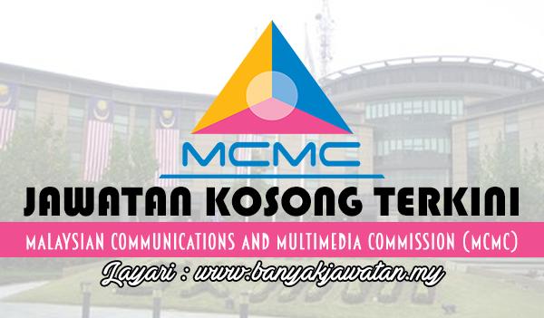 Jawatan Kosong Terkini 2017 di Malaysian Communications and Multimedia Commission (MCMC)