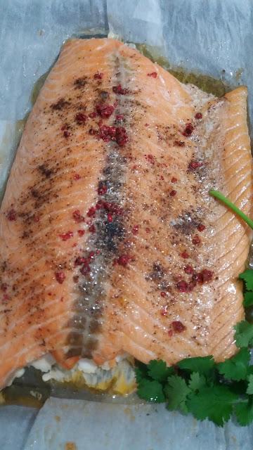Filet saumon,cuisson basse température; Filet saumon,cuisson basse température