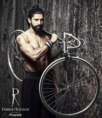 Farhan Akhtar shoot for Dabboo Ratnani 2016 Calendar