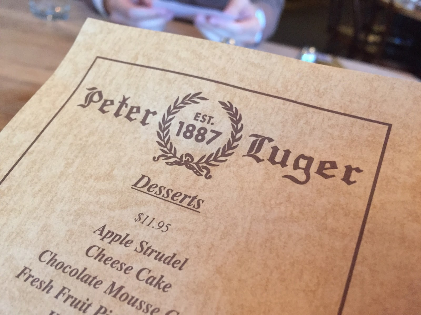 Peter Luger Steak House(ピータールーガー ステーキハウス) | ニューヨーク | アメリカ