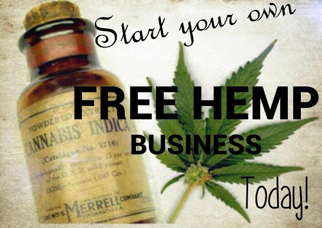 Start Your Own Free Hemp Business Pic.