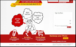 PICKZUP Free Recharge
