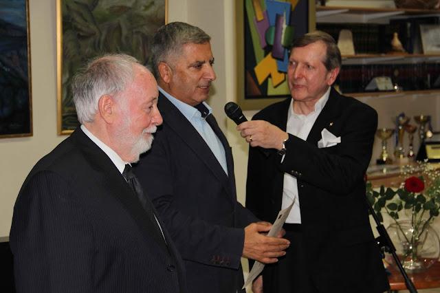 Το παρόν στην εκδήλωση έδωσε και ο Δήμαρχος Αμαρουσίου κ. Γεώργιος Πατούλης