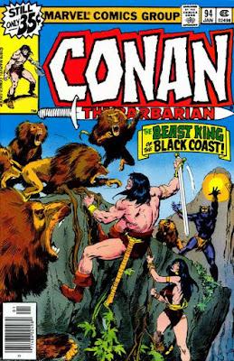 Conan the barbarian #94