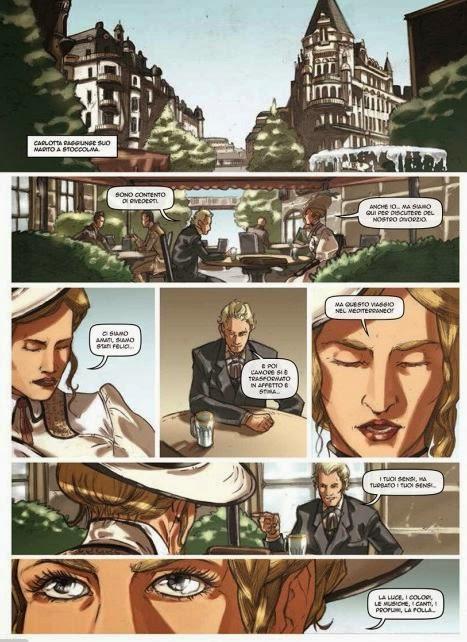 una graphic novel dedicata a del Pezzo e a sua moglie Anne Charlotte Leffler