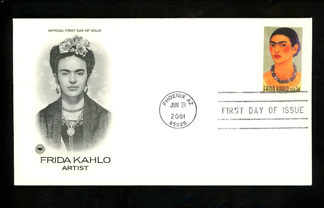 Frida Kahlo US First Day Cover