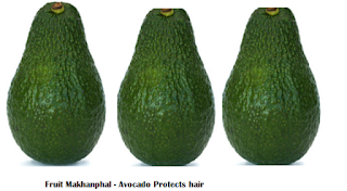 Amazing health benefits of Avocado Butter Fruit Makhanphal - Avocado Protects hair