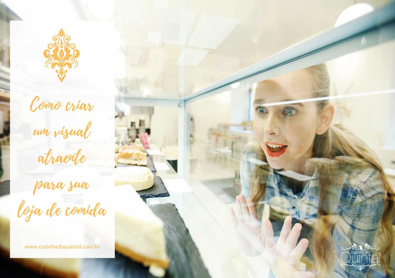 Como criar um visual atraente para sua loja de comida na Cozinha do Quintal.