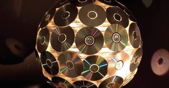13 Produk karya kerajinan tangan dari DVD bekas  1000