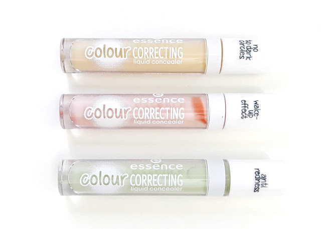 Essence Colour Correcting Liquid Concealers Review