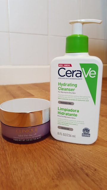Clinique TTDO Cleansing Balm & CeraVe Hydrating Cleanser