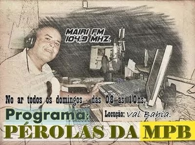 Val Bahia na Mairi FM 104,9 Mhz
