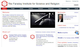 The Faraday Institute Website