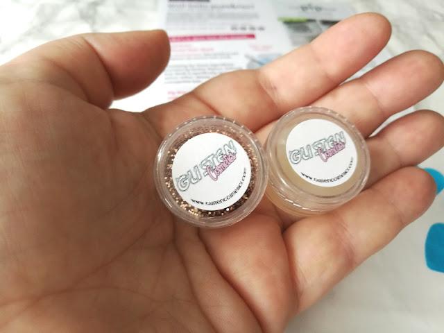 Glisten Cosmetics Primer and Glitter
