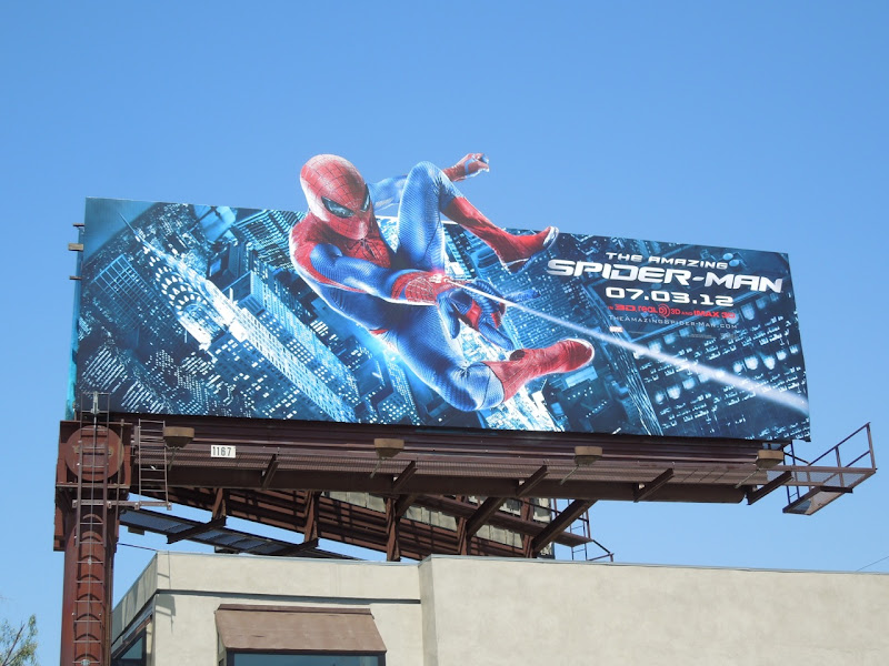 Amazing Spiderman webshooter billboard