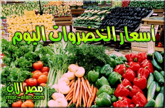 أسعار الخضروات اليوم السبت 11-2-2017