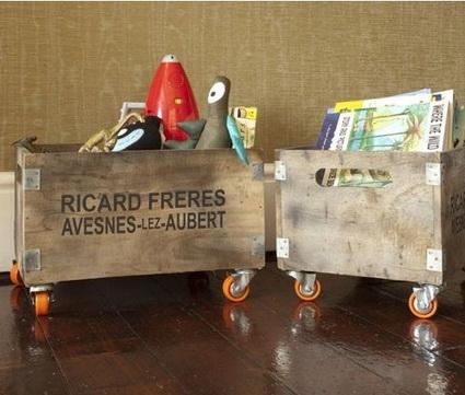 DIY Original And Inexpensive Toy Storage Ideas 8