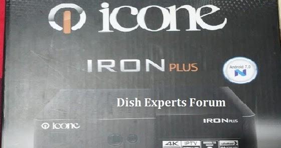 Unboxing iCONE IRON Plus 4K UHD IPTV Reciever ~ Multan Sat