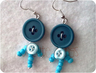 buttons earrings