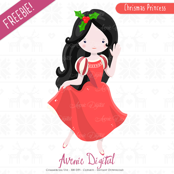 Christmas Images Free For Commercial Use.Free Christmas Princess Clipart Scrapbook Printables
