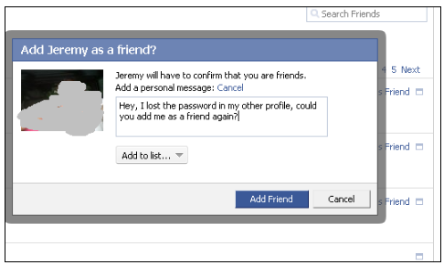 How to View a Private Facebook Profile