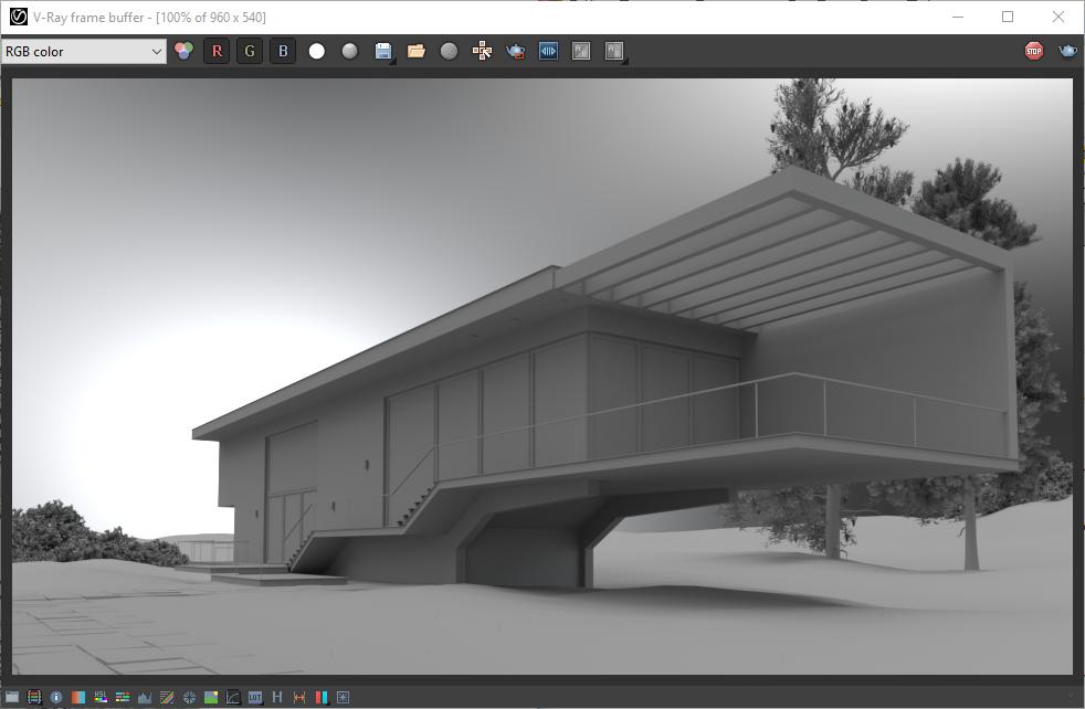 Basic Exterior Lighting In V-Ray for Rhino | CG TUTORIAL