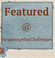 Featured by Scrapping 4 fun