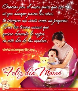 Frases Día De La Madre: Gracias Por El Amor Puro Que Me Das