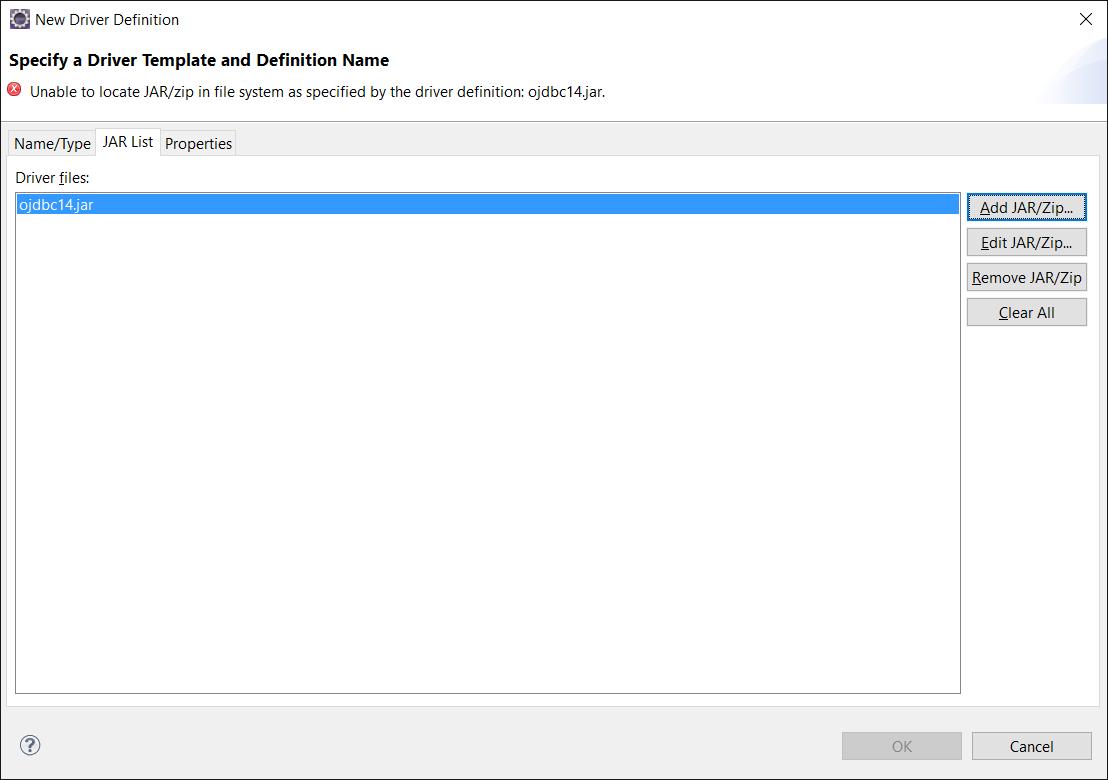 JDBC Drivers Installed with WebLogic Server