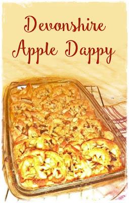 a dish of apple dappy