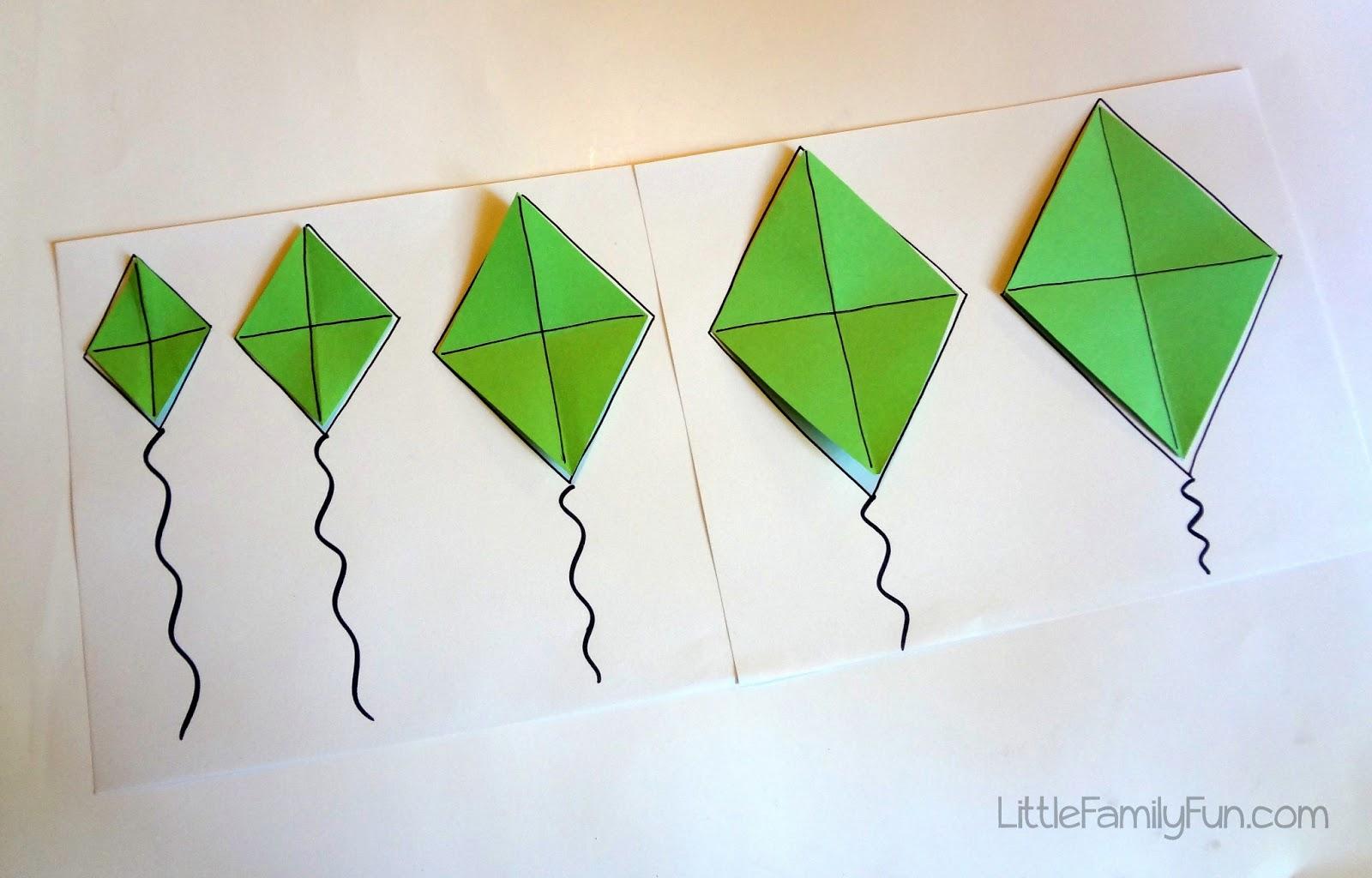 Little Family Fun Kite Sizes