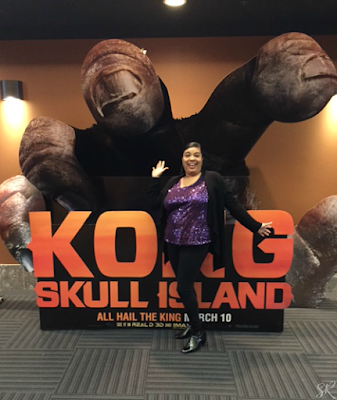 Kong Skull Island display at theater
