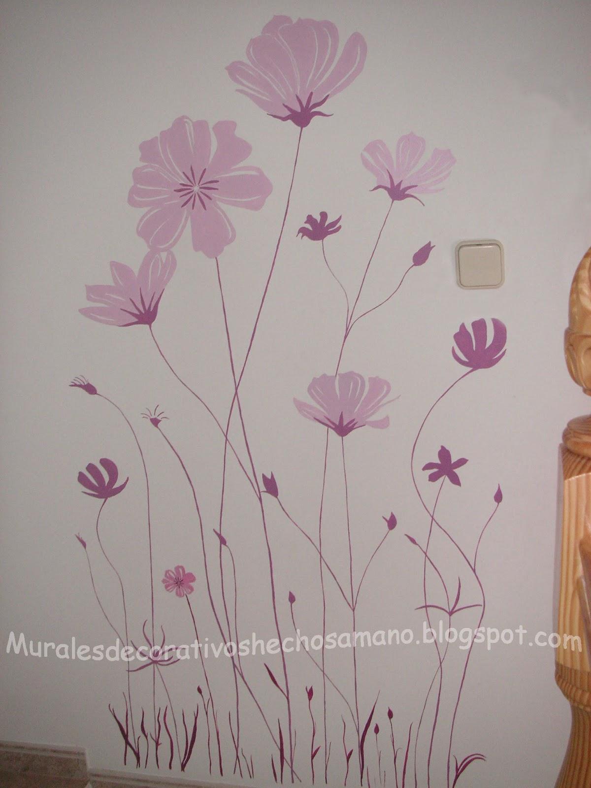 Diarios Murales y Cuadros Murales con Motivos flores