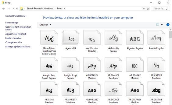 backing up fonts, silhouette fonts, silhouette font, back up fonts, silhouette cameo fonts