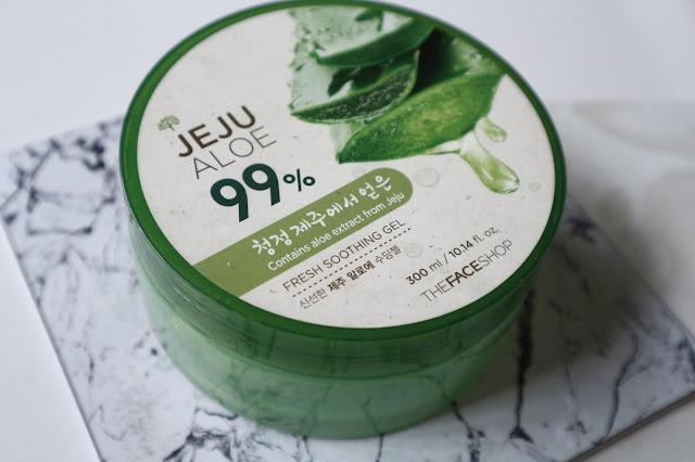 Jeju Aloe 99% By The Face Shop Pelbagai Khasiat Untuk Kulit